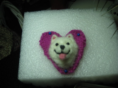 samoyed pin 001