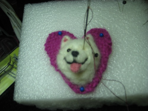 samoyed pin 003